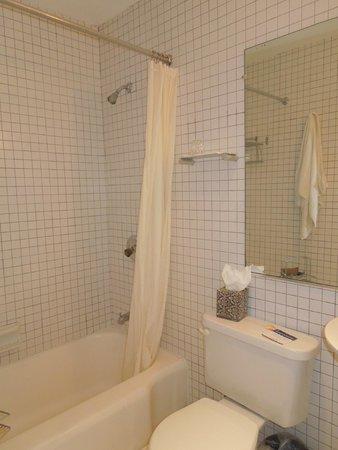 Cadet Hotel: Banheiro
