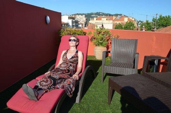 Citadines Cannes Carnot: Dachterrasse für Jedermann