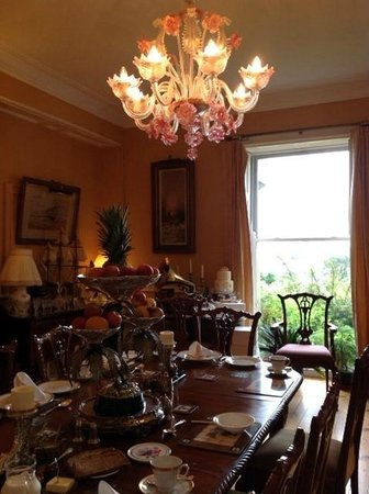 Sion Hill House: breakfast is served up in this lovely room