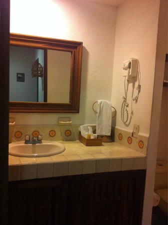 Villa Mercedes Petit Hotel: Baño