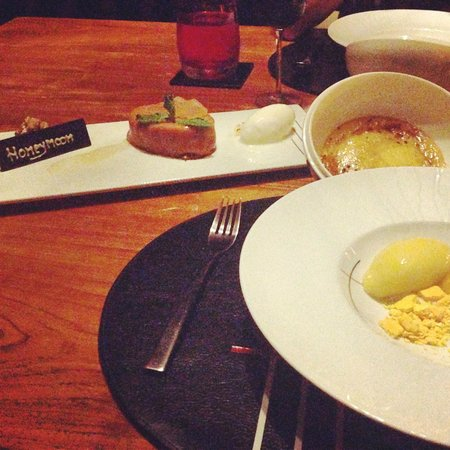 Tree Tops: Custom Honeymoon Dessert