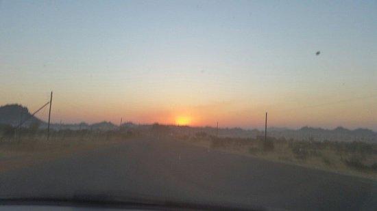 Polokwane, Güney Afrika: Sunset in Ga-Masemola