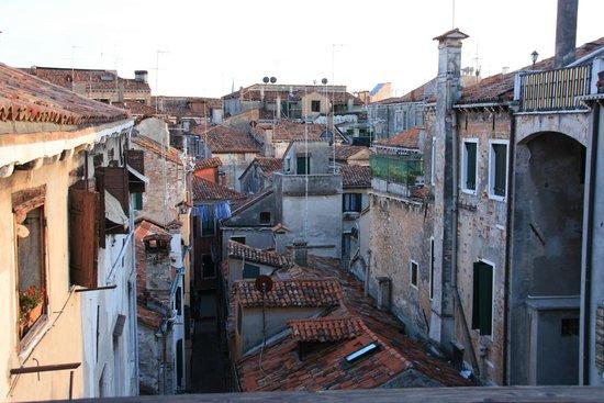 Locanda Ca' del Console: View from rooftop veranda