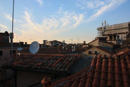 Locanda Ca' del Console: View from rooftop verhanda