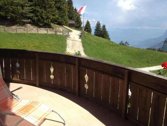 Gasthaus Jocher: Grosser Balkon