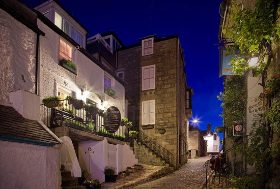 The Anchorage B&B St Ives: Anchorage at midnight