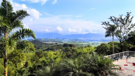 HOTEL MIRADOR LAS PALMAS: Valle de Maravelez y Cordillera Central