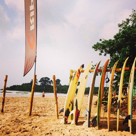 Mr Brights Surf School: Beautiful Busua beach