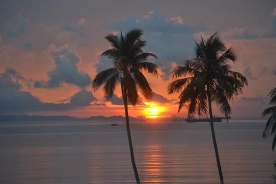 Pullman Phuket Panwa Beach Resort: room 4302 view@5.45am