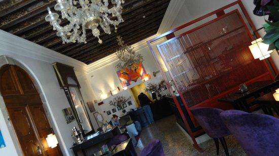 Ca' Gottardi: the lobby
