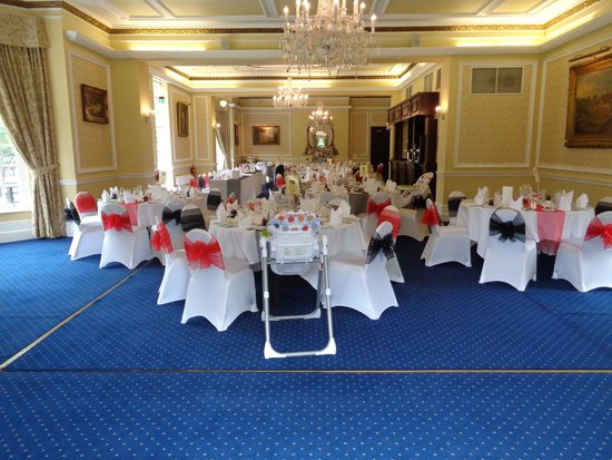 Best Western Plus West Retford Hotel: The wedding function room!