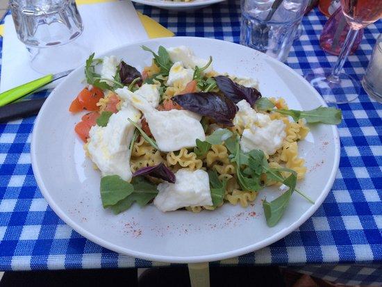 Casa Castagno : Pâtes à la Mozzarella