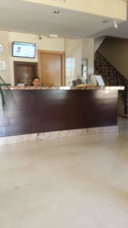 Orosol Hotel: reception area