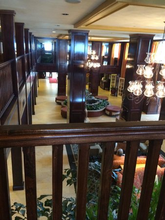 The Shores Resort & Spa: Lobby from Second Floor