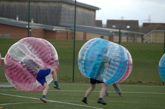 Abzorbing Bubble Football