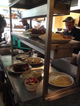 Metro Diner : Food up!