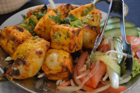Sue Asia: Творожный сыр, приготовленный в индийской печи