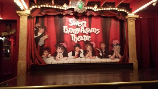 Sweet Fanny Adams Theatre: Funny + silly things happen on this stage
