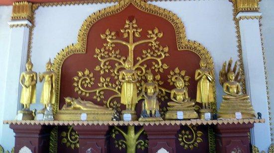 Wat Khunaram (Mummified Monk): particolare interno tempio