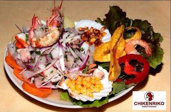 Chikenriko Sabor Peruano: Ceviche mix