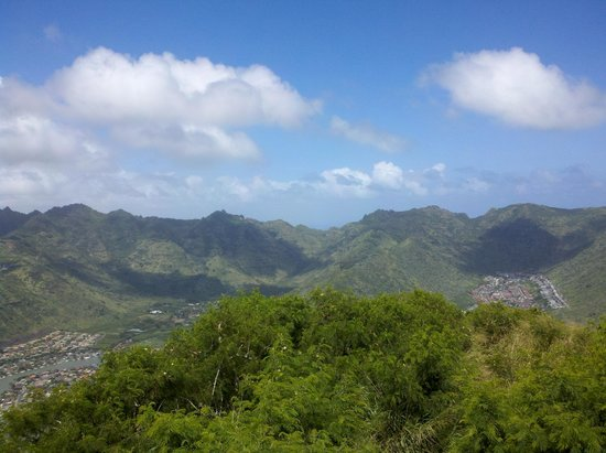 Koko Crater Trail: great view from the top