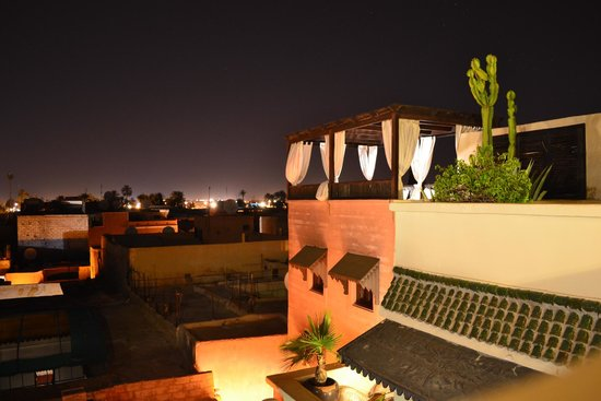 Riad Kheirredine : Roof terrace