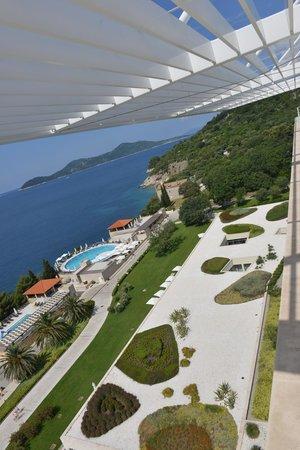 Sun Gardens Dubrovnik : Blick vom Roof Top