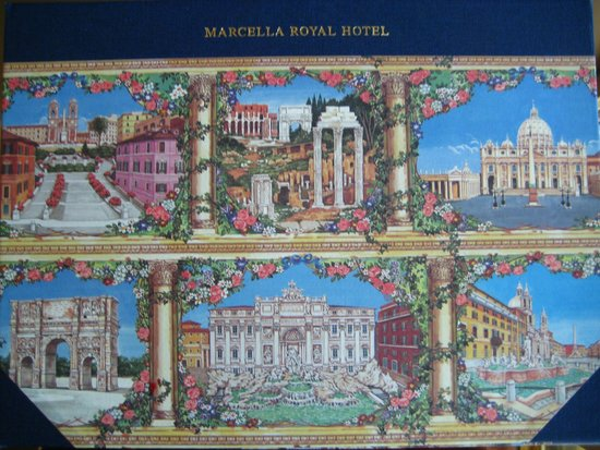 Marcella Royal Hotel: Roman Welcome