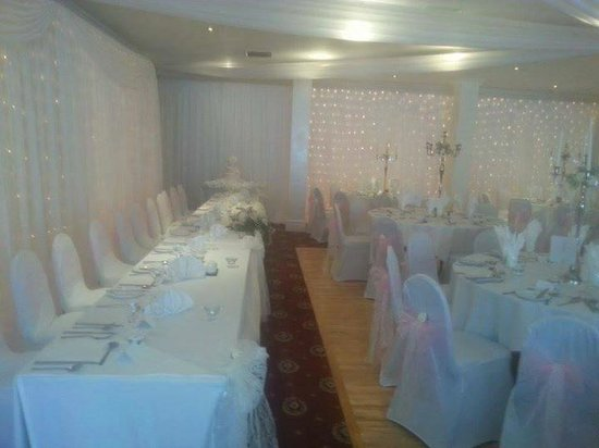 The Bellingham Hotel: top table