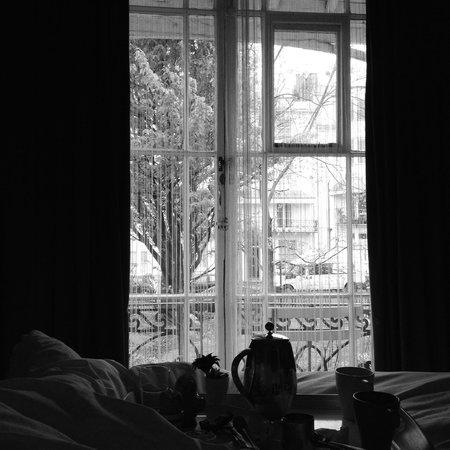Motel Schmotel: Balcony of room 4