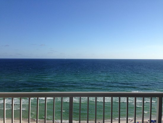 Majestic Beach Towers: View from balcony