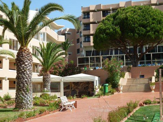 Auramar Beach Resort: path down to pool area