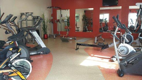 Camping du Letty : Dalle de fitness