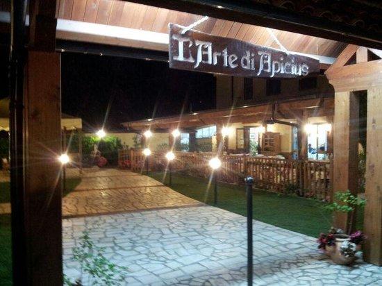 L'Arte di Apicius : esterno del ristornate