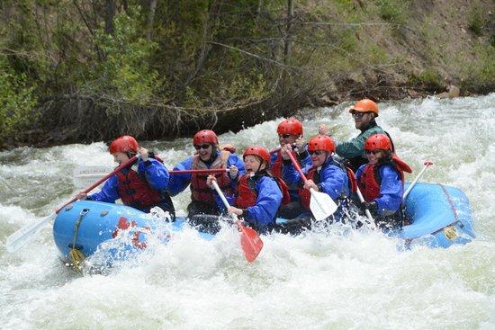 KODI Rafting in Colorado: Blue River trip on 6/14/14