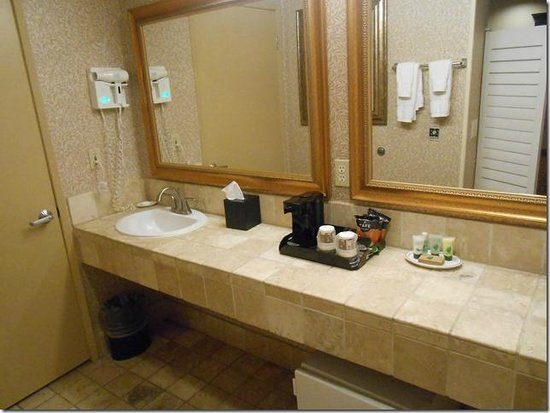BEST WESTERN PLUS Laguna Brisas Spa Hotel : Bathroom area