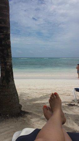 Grand Palladium Riviera Resort & Spa : La playa es hermosa