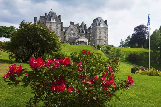 Atholl Palace Hotel: From the garden