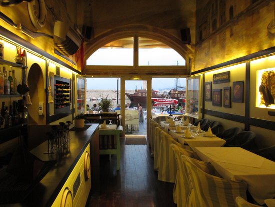 Cavo D'oro Seafood Restaurant: From the inside looking out