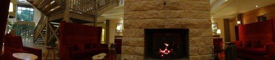Hotel des Trois Hiboux : Réception