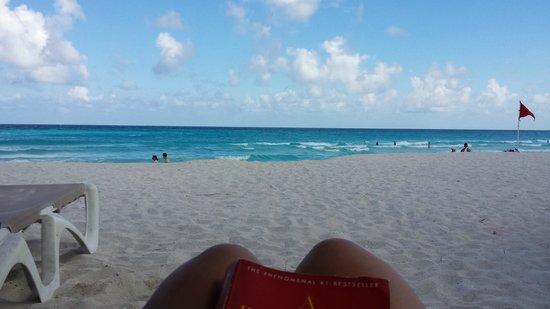 Krystal Cancun : Los colores de la playa divinos