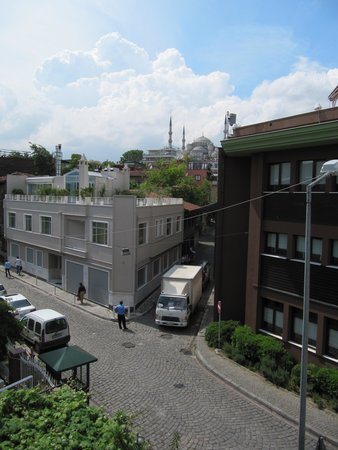 Best Western Citadel Hotel: Widok z okna.