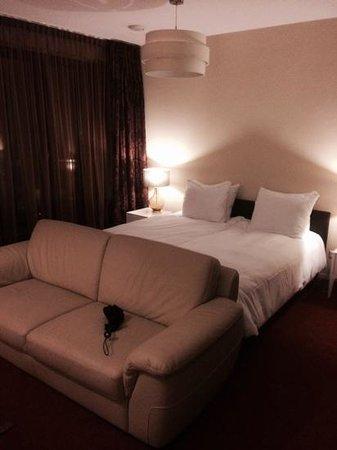 Inntel Hotels Art Eindhoven: indruk van de kamer