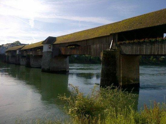 Ringhotel Goldener Knopf: Historic bridge