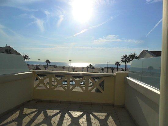 Hotel Las Arenas Balneario Resort: A very pleasant sight to wake up to