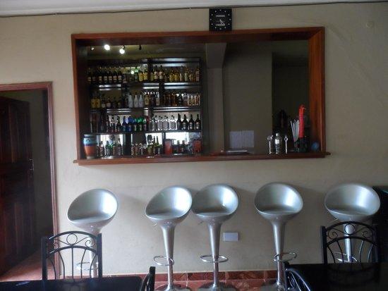 Namugongo Hotel: Well Stocked Bar