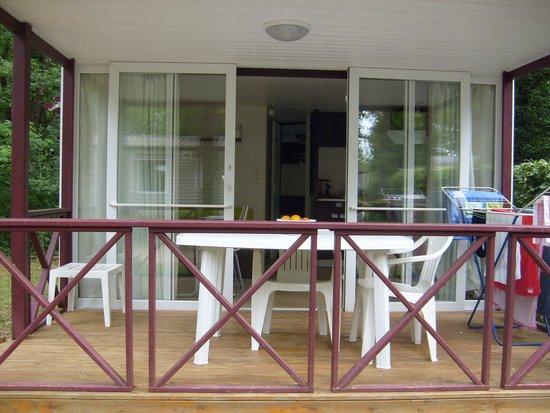 Domaine Des Chenes Verts: la terrasse