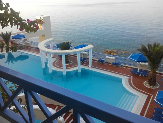 Mitsis Summer Palace Beach Hotel: to widok z naszego pokoju