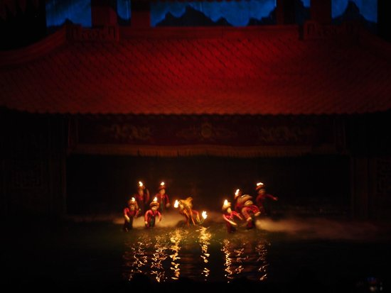 Thang Long Water Puppet Theater: Some scene of the water puppet show