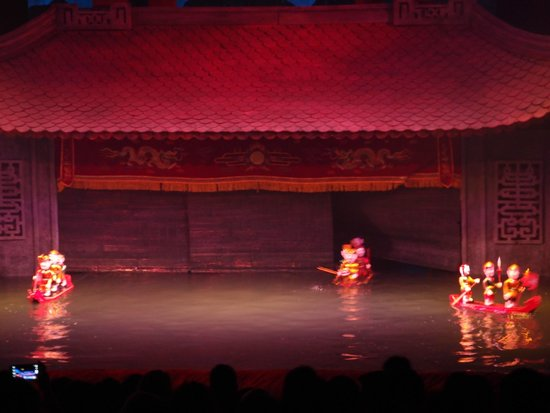 Thang Long Water Puppet Theater: Some scenes of the water puppet show